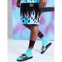BOOHOO × Migos /Flame shorts BLACK