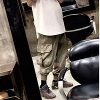 WOSS.official/Belt Cargo Pants OLIVE