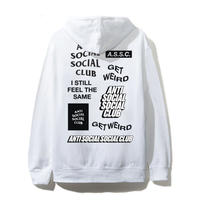 Anti Social Social Club/SS新作 Logo Hoodie WHITE