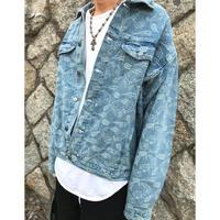 WOSS.official/Paisley denim jacket