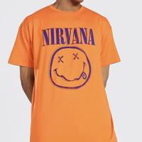 """NIRVANA/Official Tshirts  """"ORANGE"""""""