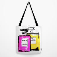 Society6/Artist Tote Bag bottle