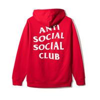 Anti Social Social Club/Logo フーディー RED 限定カラー