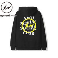 Anti Social Social Club× Fragment Design /Hoodie  YELLOW