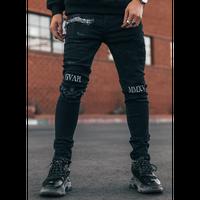 GUAPI/BLACK Paisley  Denim