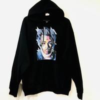 """R MAX Clothing/Art """"XXX tentacion"""" Hoodie BLACK"""