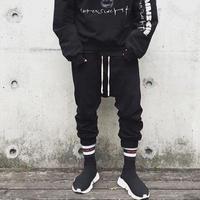 URKOOL/Drop Crotch Pants