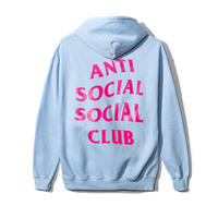Anti Social Social Club/Logo フーディー  BABY BLUE 限定カラー