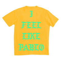 PABLO Tour/I Feel Like PABLO official Tshirt