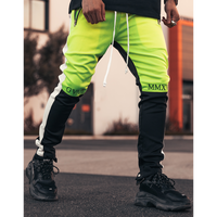 GUAPI/FUSION Track Pants Neon Yellow