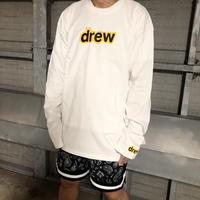 Drew House/Mascot LongSleeve WHITE