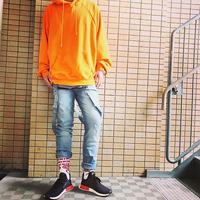 Sixth June/オーバーオール ダメージデニム