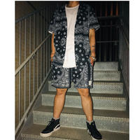 BOOHOO × Migos /BANDANA Set Up  BLACK