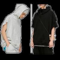 WOSS.official/Oversize CUT OFF hoodie