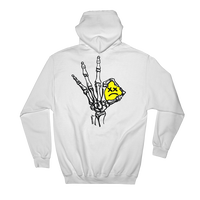 Lil Pump official merch/Unhappy Smile Hoodie  white