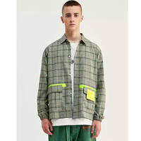 WOSS.official/Plaid Shirts Jacket