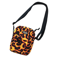 Petals and Peacocks/Flame shoulder BAG