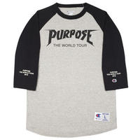 Purpose tour/Justin bieber official Raglan Tee