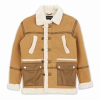Reason Clothing Newyork/Fur Long jacket