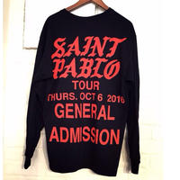 Saint Pablo Tour/official long sleeve