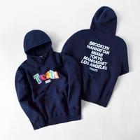 KITH NYC × TREATS/Logo Hoodie Dark NAVY