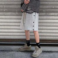 URKOOL/SNAP SHORTS GREY
