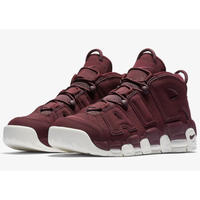 "Nike/Air more uptempo   ""Night Maroon"" ボルドー MENS"