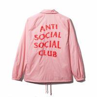 Anti Social Social Club/Logo コーチジャケット