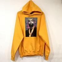 "R MAX Clothing/Art ""Nipsey Hussle"" Hoodie YELLOW"