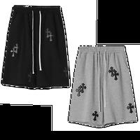 Mismatch NYC/Cross patch custom shorts