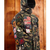 Reason Clothing Newyork/CAMO LONG JACKET