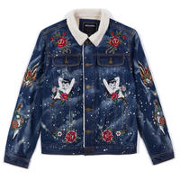Reason Clothing Newyork/BOA  Denim Jacket