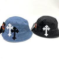 Mismatch NYC/ Cross custom denim Hat