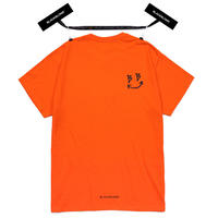BLACK BLOND/Smile Tee ORANGE