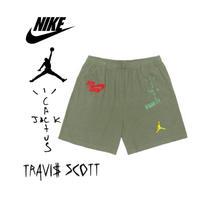 "Nike × Travis Scott /Cactus Jack JORDAN Shorts ""OLIVE"""