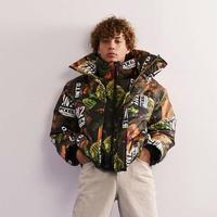 COLLUSION Studios /layered Puffer Jacket MIX