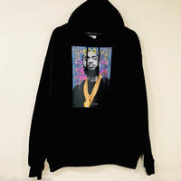 "R MAX Clothing/Art ""Nipsey Hussle"" Hoodie BLACK"