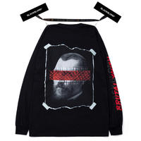 BLACK BLOND/BRUTAL Long Sleeve Tee BLACK