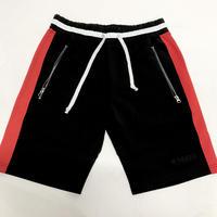 Karter Collection/shorts BLACK ×RED