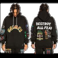 GRMY/Destroy Hoodie BLACK