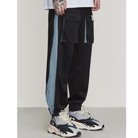 WOSS.official/side zip pants BLACK