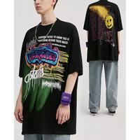 WOSS.official/SprayArt Oversized Tshirts