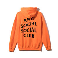 Anti Social Social Club/Logo フーディー   ORANGE 限定カラー