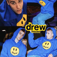 Drew House/Mascot Hoodie ROYAL BLUE
