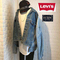 RE NEW/Levis custom denim jacket ⑥