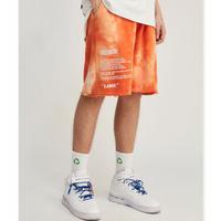 WOSS.official/TIE dye shorts  ORANGE