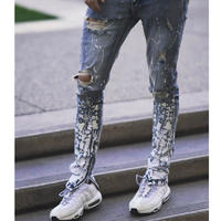Cooper Nine/ Paint Denim