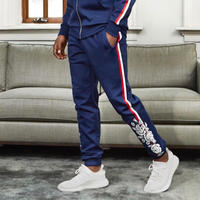 Reason Clothing Newyork/ROSE track pants  NAVY
