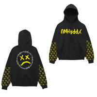 Lil Pump official merch/Unhappy Smile Hoodie