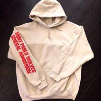 Saint Pablo Tour/official hoodie フーディー ベージュ